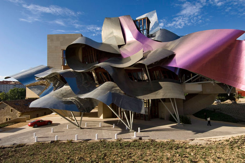 Opus hong kong frank gehry s first residential building in asia - Marquis de riscal hotel ...